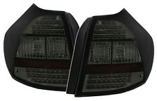 LUCES TRASERAS AR NEGRO AHUMADO LED CRISTAL BMW SERIE 1 E81 E87 116i 118i 120i