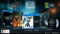 Final Fantasy VII Remake Deluxe Edition - PlayStation 4  * PS4 2020 * WOW