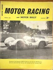 Motor Racing y motor Rally revista. marzo De 1960