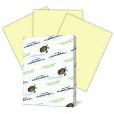 Hammermill Colored Paper, Canary Printer Paper, 20lb, 8.5x11 Paper, Letter Size,