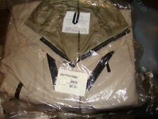 New US Military Army Goretex JP-8 Fuel Handlers Coveralls Desert Tan Medium -NIP