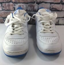 New listing Nike Tennis Shoes Air Force Low Top White/Light Blue  Mens 12
