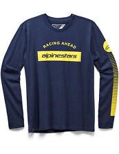 Alpinestars Arc Bar Long Sleeve T-Shirt in Navy