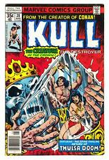KULL THE DESTROYER #28 (8/78)--FN+ / Thulsa Doom-app; Ernie Chan-art/cover^