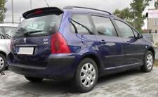 Peugeot 307 01-08 SW COMBI REAR ROOF Door SPOILER back trunk Wing Tailgate Lip