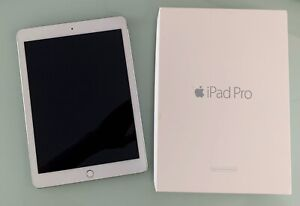 """iPad Pro 9.7"""" A1673 128 GB 1st Gen Silver Wi-Fi excellent condition"""