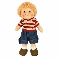 Bigjigs Toys Soft Plush Harry Doll (28cm) Ragdoll Cuddly Toy