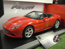 FERRARI CALIFORNIA T cabriolet rouge 1/18 BURAGO 1816007 voiture miniature coll.