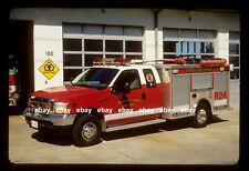 Treasure Island FL 2001 Ford F350 EVI rescue Fire Apparatus Slide