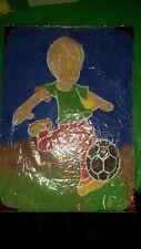 Kids BEE HAPPY Sable Art Craft Activité équipe de football player A4 Photo uniquement