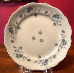 "Johann Haviland Traditions Fine China Blue Garland 8"" Salad Plate"