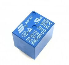 10PCS RELAY 5V SRD-5VDC-SL-C T73-5V SONGLE Power Relay NEW