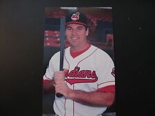 1996 Herbert Perry Cleveland Indians Post Cards / Postcards