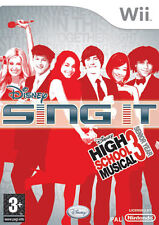 Disney Sing It! High School Musical Nintendo WII IT IMPORT DISNEY INTERACTIVE