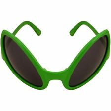 Unisex Halloween SC FI Adult Alien Dark Lens Glasses Fancy Dress Party Accessory