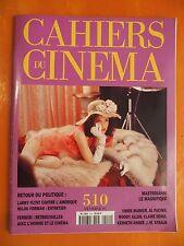 Mastroianni le magnifique-Larry Flynt- Cahiers du Cinéma N° 510 du 02/1997