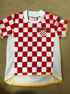 Kinder Baby Fußball Trikot Croatia Nr. 7 Leon w NEU