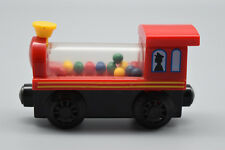 """Toy Train, Red, 3 1/2"""" Long, 2"""" Tall. In good condition. Preowned"""