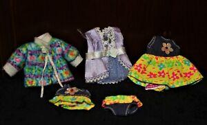 BARBIE Sister KELLY Doll CLOTHES LOT: Summer Dress SWIM SUIT Coat PARTY Dresses