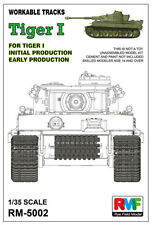 RyeField Model RFM RM5002 1/35 Workable track for Tiger I early production Tank