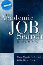 NEW - The Academic Job Search Handbook (3rd Edition)