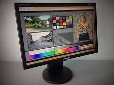 "Samsung 2043BW LCD TFT 20"" Widescreen Monitor - Portrait/Landscape, VGA and DVI"
