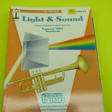 LIGHT & SOUND CURRICULUM BASED HANDS-ON ACTIVITIES GRADES 4-6, TEC1737 (B7)