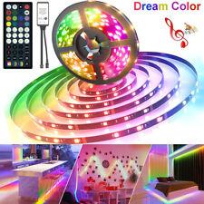 Dream Color LED Strip Lights 20ft/6M 44Key Chasing Light W music Waterproof kit