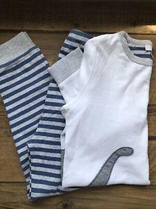 Boys White Company Pyjamas Age 7-8