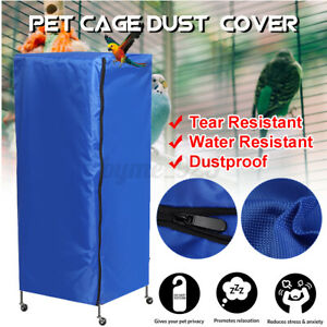 97cm Large Bird Cage Cover Universal Parrot Protector green Catch Cloth Cove