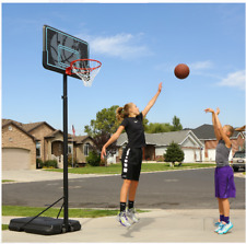 Lifetime 90759 44in. Adjustable Portable Basketball Hoop - Black