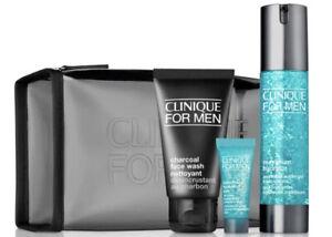 Clinique 4-Pc. Great Skin For Him Set - Gel, Wash, Eye, Cologne, Travel Bag🌹NEW