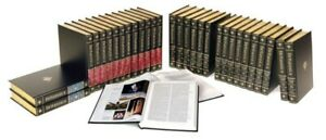 Encyclopedia Britannica Set | Leatherette Cover | 49 Book Set Collection