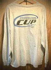 """MEADOWLANDS RACE TRACK """"BREEDERS CUP"""" LONG SLEEVE TEE T-SHIRT XL ~ NEW NWOT"""