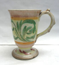 Early 1950s DENBY GLYN COLLEDGE British Art Pottery GLYN WARE Footed COFFEE MUG
