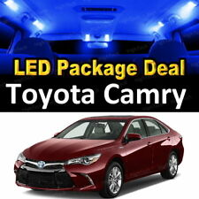 2007 2008 2009 2010 2011 Toyota Camry LED Lights Interior Package Kit BLUE 10PCS
