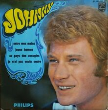 "Johnny Hallyday - Entre Mes Mains / Jeune Homme - Vinyl 7"" 45T (4 titres)"