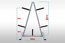 Large Size - Heavy Duty - Gym Weight Plates Storage Rack - Weight Tree - Stand
