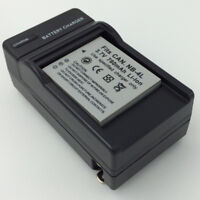NB-4L Battery + Charger for CANON PowerShot ELPH 100 HS IXUS 115 Digital Camera
