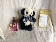 Merrythought little Cheeky Panda Limited Edition 117/500 Mohair Collectible Rare