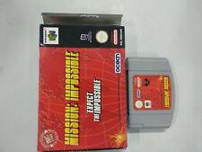 Mission Impossible - Nintendo 64 - N64 - PAL ESP - Con caja