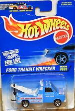 HOT WHEELS 1997  COLL # 620 FORD TRANSIT WRECKER BAD CARD