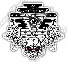 "Equilibrium Eye Providence Masonic Gift Idea Car Bumper Vinyl Sticker Decal 4X5"""