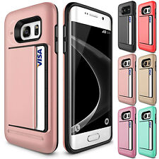 Pocket Wallet Clip Hard Card Money Back Case Cover For Samsung Galaxy Note 3 4 5