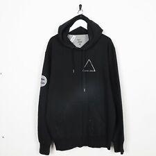 Vintage NIKE USA Triangle Hoodie Sweatshirt Black XL