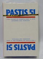 PASTIS 51 PASTIS ANISETTE Jeu 32 cartes belote (ciel ) NEUF