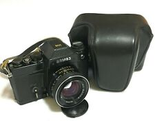 RARE Film Camera Almaz 103 LOMO 35mm Soviet With Lens MC VOLNA 1.8/50mm