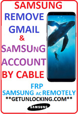 ANY SAMSUNG TABLET S8 S8+ NOTE 8 S7 S6 SAMSUNG & FRP GOOGLE GMAIL ACCOUNT REMOVE