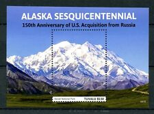Tuvalu 2016 MNH Alaska Sesquicentennial US Acquisition 1v S/S Mountains Stamps