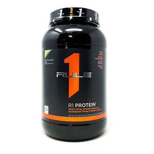 Rule One R1 Protein 100% Whey Protein Isolate 2lb 38 Serv Rule 1 Protein Powder